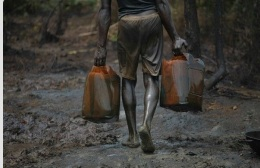 Revenue from Nigerian oil is largely consumed by Nigerian Elites, leaving its citizens poor.