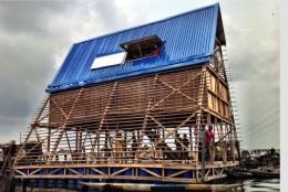 Floating school in Makoko, Lagos