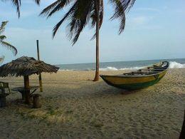 Victoria Island beach, Lagos