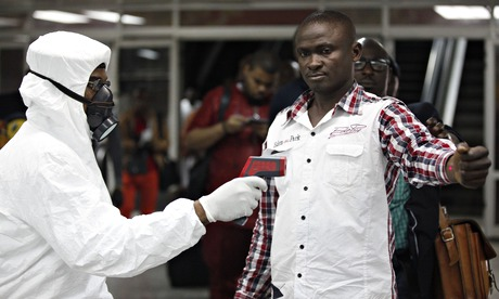 Murtala Muhammed international airport in Lagos