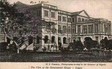 1920s | View of Government House Lagos | Lagos Nigeria | ©H. Sanya Freeman