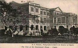 1920s   View of Government House Lagos   Lagos Nigeria   ©H. Sanya Freeman