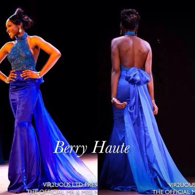Embellished and pure silk dress designed by Gerrie berry @berry_haute