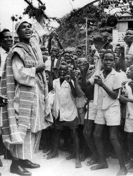 Mohammed Ali in Nigeria in the 1960s