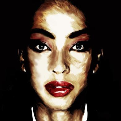 Nnamdi X Sade Art piece produced for Sade the legend.